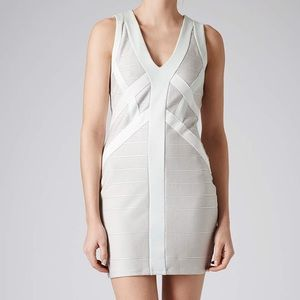 Topshop bandage dress